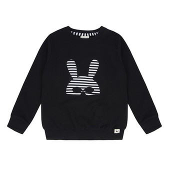 Turtledove Black Mask Sweater (4-5 Years)
