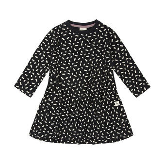 Turtledove Confetti Dress (0-6M)