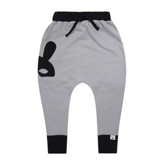 Turtledove Grey Harem Pants (NB-12M)