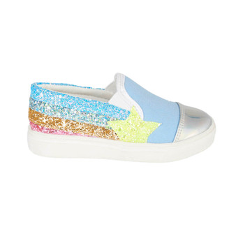 Hatley Shooting Star Slip On Sneaker (Size 8-3 US Shoe Sizes)