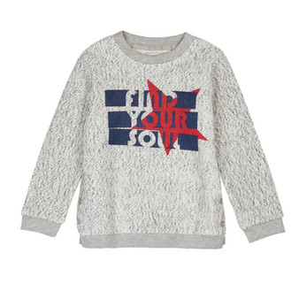 Boboli Roller Girl Find Your Soul Thick Grey Knit Jumper (Sample Size 4 Years)