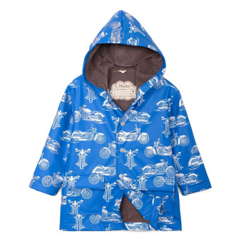 Hatley Motorcycles Raincoat (Size 10 Years)