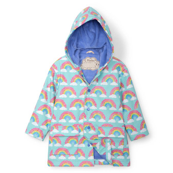 Hatley Magical Rainbows Raincoat (Size 3 & 6 Years)