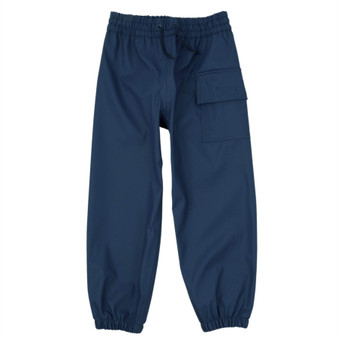 Hatley Classic Navy Splash Pants (Sizes 3-8 Years)