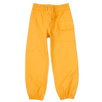 Hatley Classic Yellow Splash Pants (Sizes 3-5 Years)