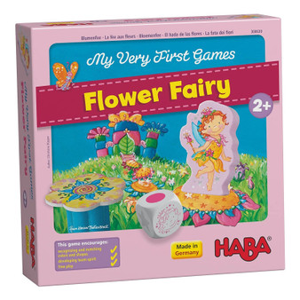 My Very First Games - Flower Fairy HABA Children's Board Game (Age 2 +)