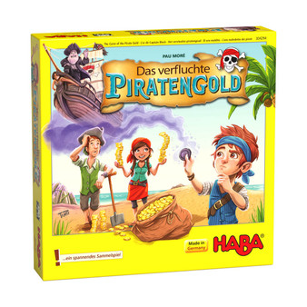The Curse of the Pirate Gold HABA Children's Board Game (Age 5 +)