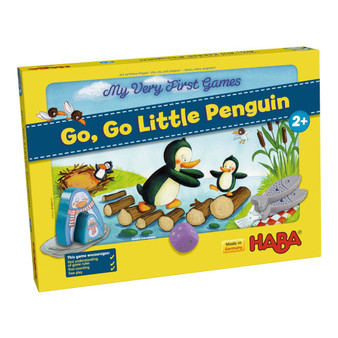 My Very First Games – Go, Go Little Penguin HABA Children's Board Game (Age 2 +)