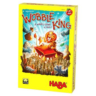 Wobble King HABA Children's Board Game (Age 4 +)