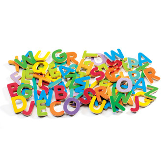Djeco Wooden Magnetic Upper Case Letters (Age 4 Years +)