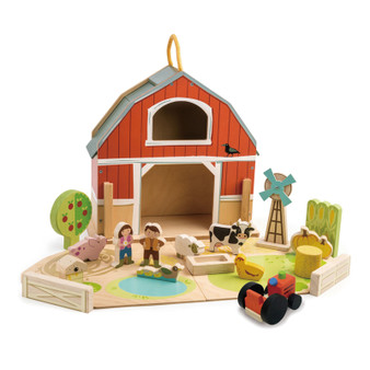 Tender Leaf Toys Little Barnyard Set (Age 3 Years +)