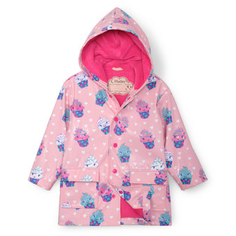 Hatley Dancing Cupcakes Colour Changing Raincoat (Sizes 4 & 6 Years)