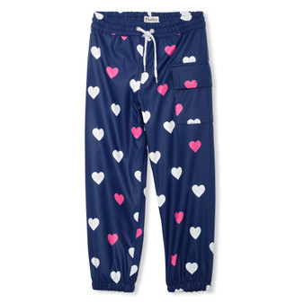 Hatley Striped Hearts Colour Changing Splash Pants (Sizes 2, 4 & 5 Years)