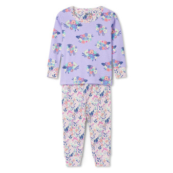 Hatley Counting Sheep Organic Cotton Baby Pyjama Set (Sizes 3-18 Months)