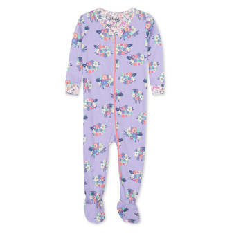 Hatley Counting Sheep Organic Cotton Footed Coverall (Sizes 0-24 Months)