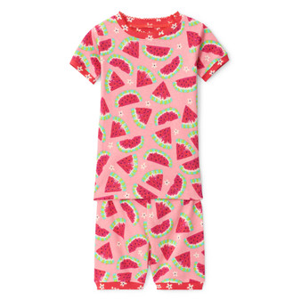 Hatley Watermelon Slices Organic Cotton Short Pyjama Set (Sizes 2-7 Years)