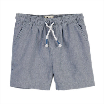Hatley Chambray Baby Woven Shorts (Sizes 18-24 Months)