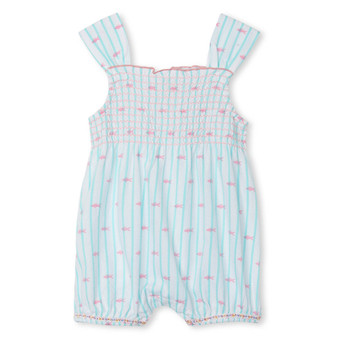 Hatley Tiny Fishies Baby Bubble Romper (Sizes 6-12 Months)