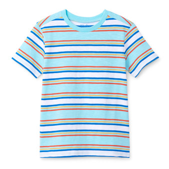 Hatley Tropical Stripe Graphic Tee (Sizes 3, 5, 7 & 8 Years)
