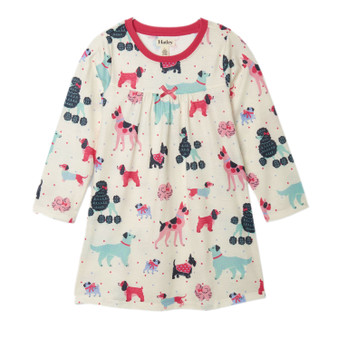 Copy of Hatley Colourful Pups Long Sleeve Nightdress (Size 5 Sample)