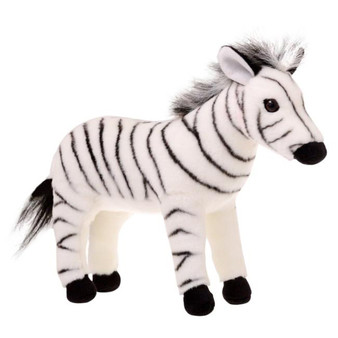 Animalia Plush Zebra (Length 30cm)