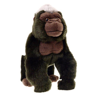 Animalia Plush Gorilla (Length 25cm)