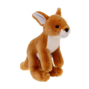 Animalia Plush Kangaroo (Height 20cm)