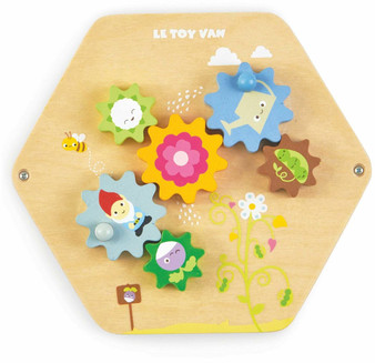 Le Toy Van Petilou Activity Tiles Baby Gears (Recommended 18m+)