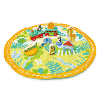 Tender Leaf Toys Safari Park Story Bag Set (Suitable 3+)