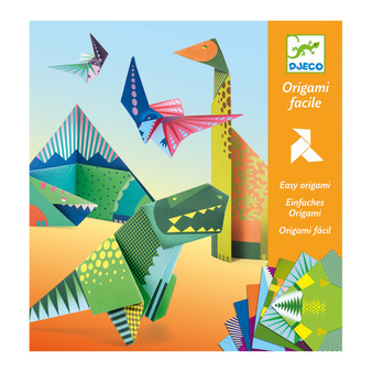 Djeco Dinosaurs Paper Toys Origami Craft Set (Age 6+)