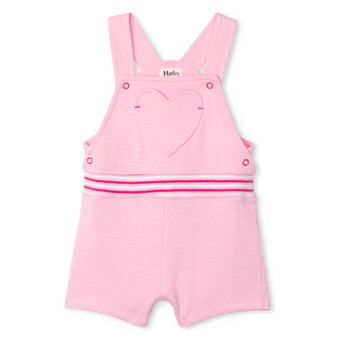 Hatley Candy Pink Baby Overalls (Size 9-12m Sample)