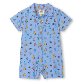 Hatley Bug Buddies Baby Woven Romper (Size 9-12m Sample)