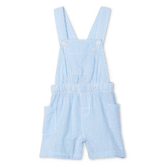 Hatley Blue Stripe Baby Shortall (Size 9-12m Sample)