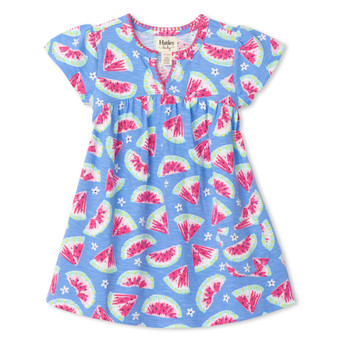 Hatley Watermelon Slices Baby Puff Dress (Size 9-12m Sample)
