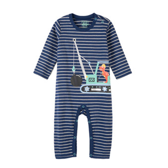 Hatley Construction Dino Romper (Size 9-12m Sample)