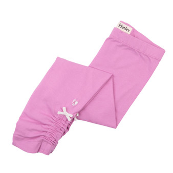 Hatley Candy Pink Ruched Leggings (Size 4 Sample)