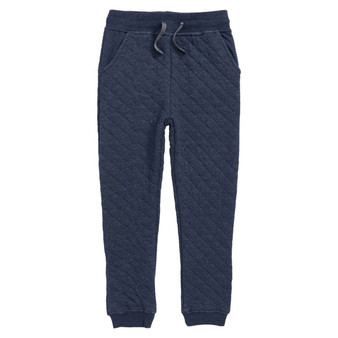 Hatley Navy Quilted Jogger Pants (Size 4 Sample)