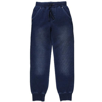 Boboli Blue Denim Stretch Joggers (Size 12 Years)