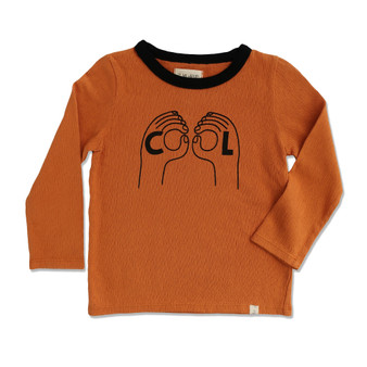 Me & Henry Mustard CL Tee (Size 3-4 Years Sample)