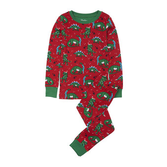 Hatley Christmas Dinos Long Sleeve Pyjamas (Size 4 Sample)