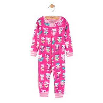 Hatley Pool Kitties Footless Coverall (Size 9-12m Sample)