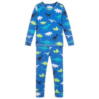 Hatley Dino Herd Base Layer Set (Size 4 Sample)