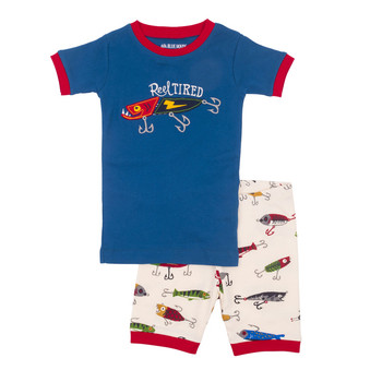 187e52133c340 LBH by Hatley Fishing Lures Summer Pyjamas (Size 2 only)