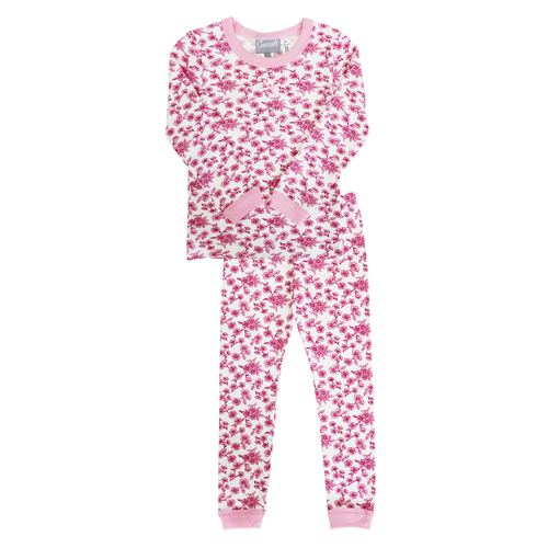 Coccoli Pink Flowers Winter Pyjamas