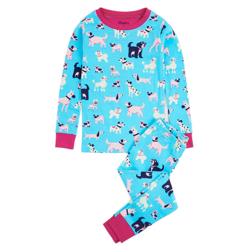 Hatley Playful Pooches Organic Cotton Pyjama Set (Size 2 only)