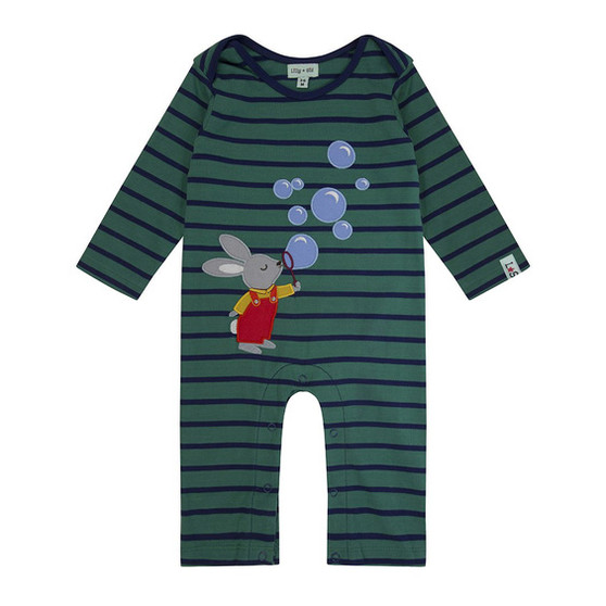 Lilly & Sid Bunny Playsuit (NB-12M)