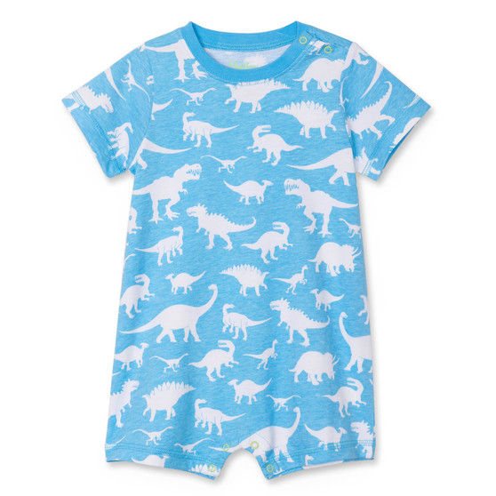 Hatley Dino Silhouettes Baby Romper (Sizes 3-18 Months)