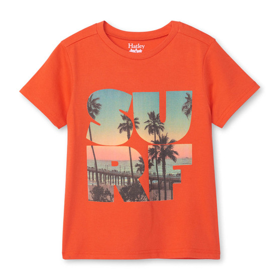 Hatley Surf Graphic Tee (Sizes 2-5 Years)