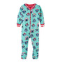 Hatley Jade Cozy Pups Footed Coverall (Size 9-12m Sample)
