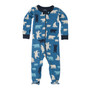 Hatley Polar Bears Blue Footed Coverall (Size 6-12m Sample)